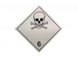 """Dangerous Goods"" Label"